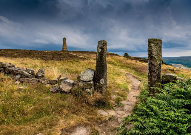 There are concerns over  a number of monuments, way-markers used by pilgrims walking between the abbeys of Fountains, Rievaulx and Byland to Whitby Abbey are religious crosses, memorials and route markers.