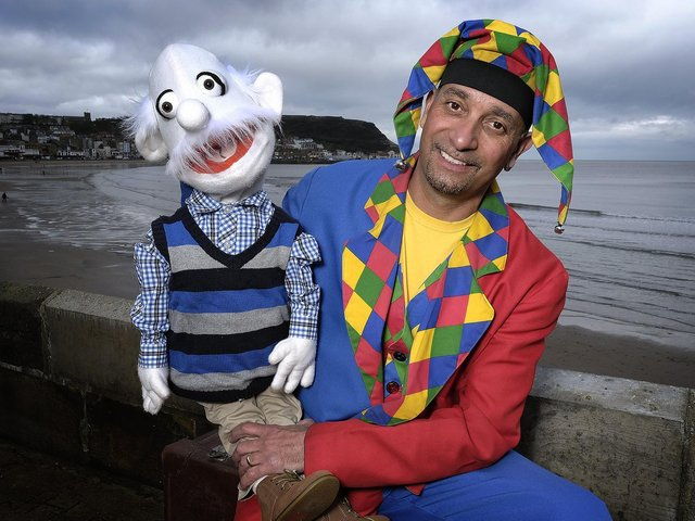 The Scarborough entertainer in summer season
