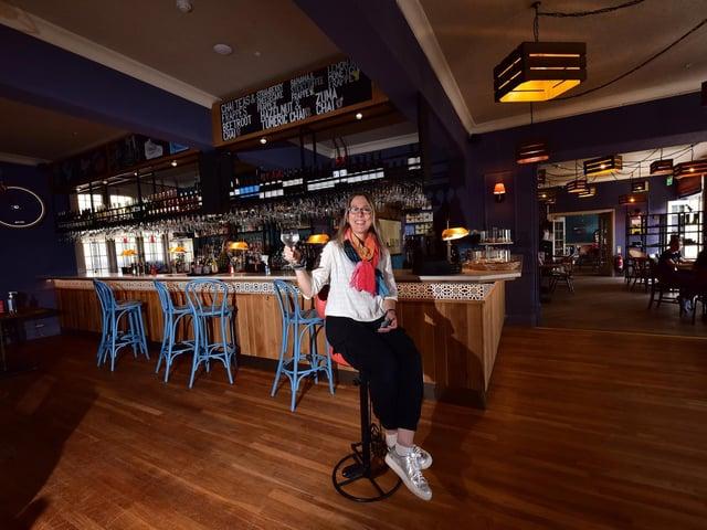Interior Designer Rachel McLane raises a toast