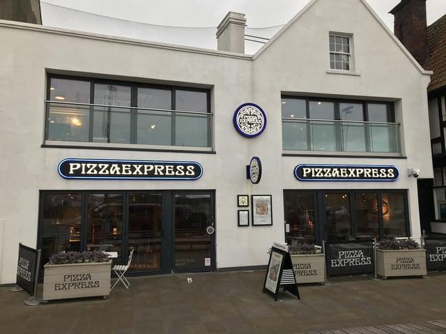Pizza Express in Sandside, Scarborough.