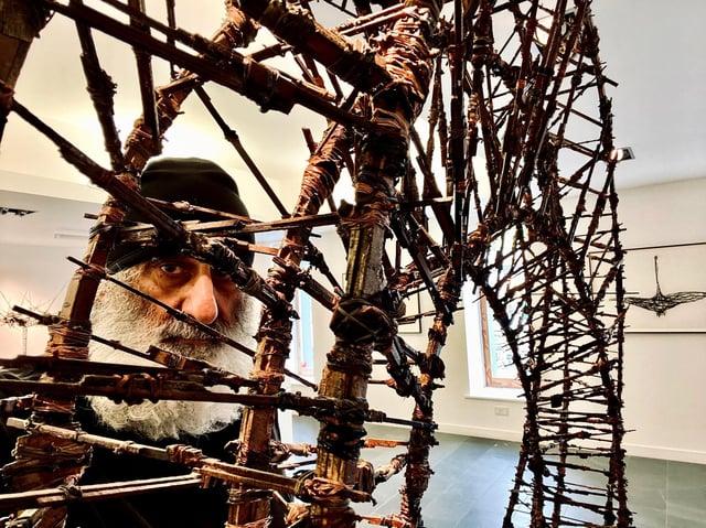 Sculptor Gerry Judah