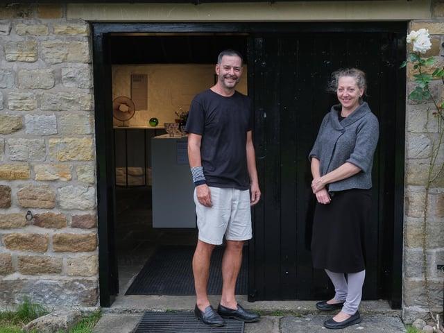 Kate Jones and Stephen Gillies