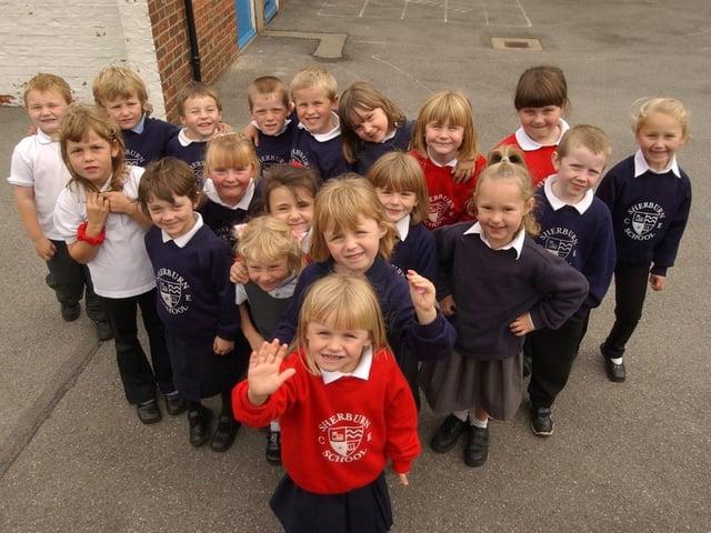 Sherburn Primary School in 2002.