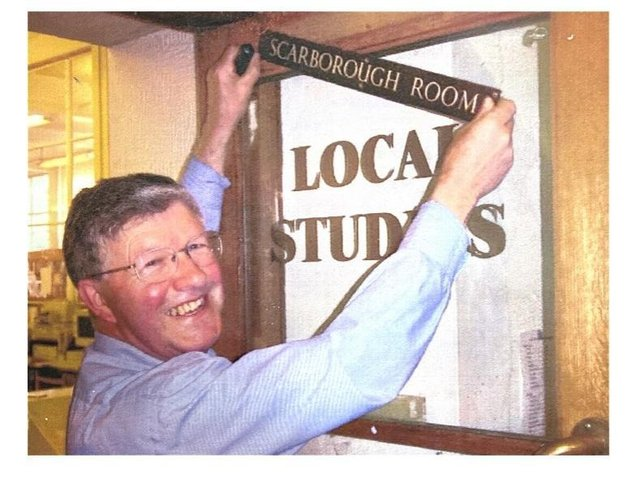 Mr Berryman has died at the age of 81. He was known by colleagues as 'Mr Scarborough Library'