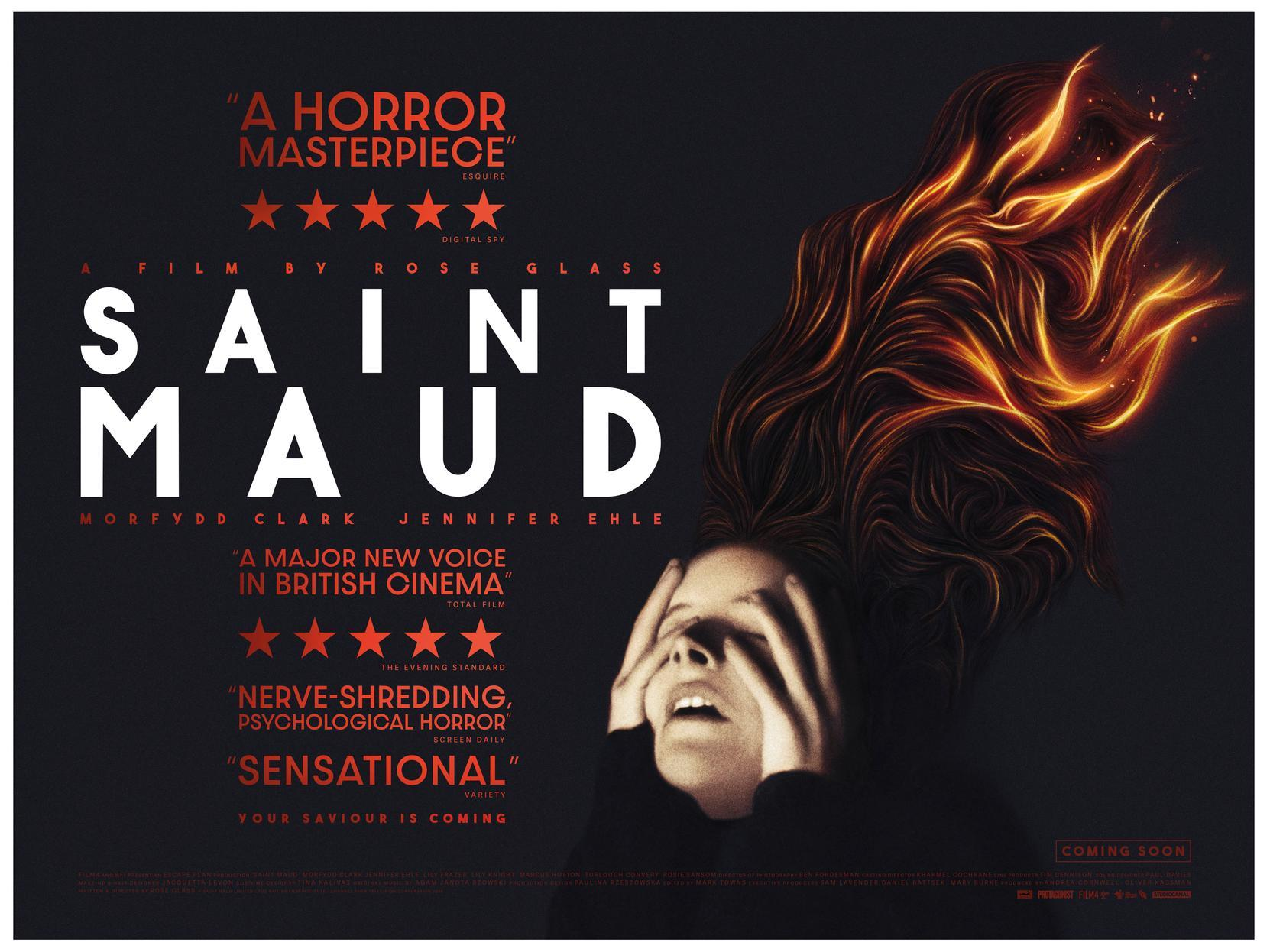 Scarborough has a starring role in hit horror movie Saint Maud | The Scarborough News