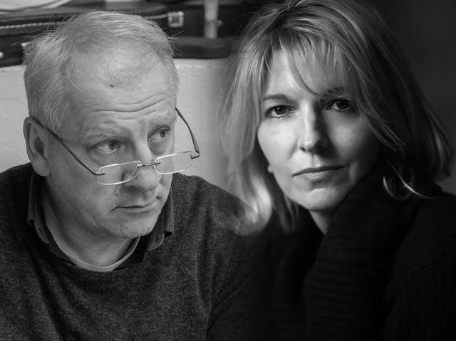 Simon Slater and Jemima Redgrave