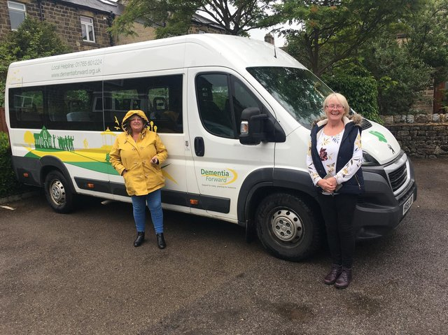 Representatives from the volunteer drivers in Nidderdale.