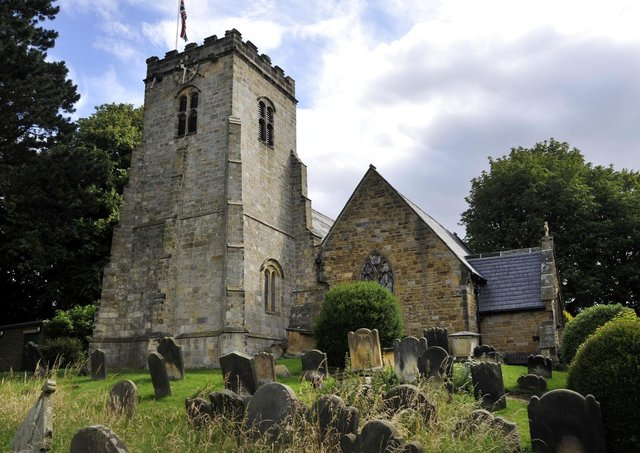 St Laurence's Church in Scalby is hoping to deliver February cheer.