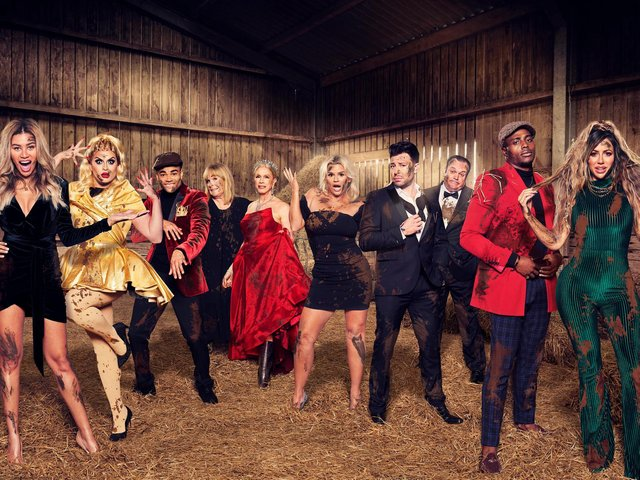 The cast of season three Celeb's on the Farm.