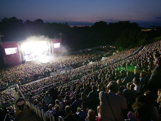 The venue was previously limited to 30 shows a year under planning conditions.