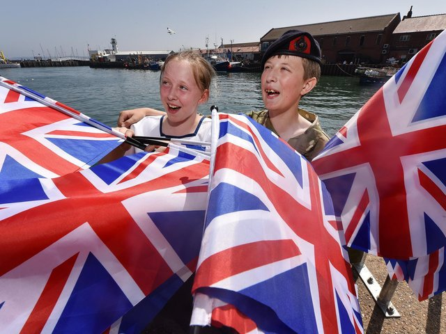 Scarborough's Armed Forces Day celebrations in 2019.