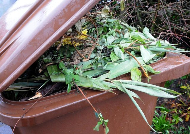 Residents are being told to keep tags on their garden waste bins.