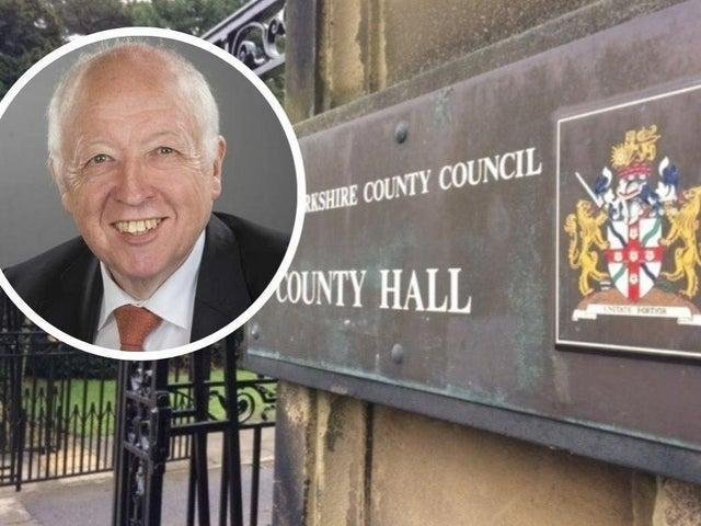 North Yorkshire County Council leader Carl Les.