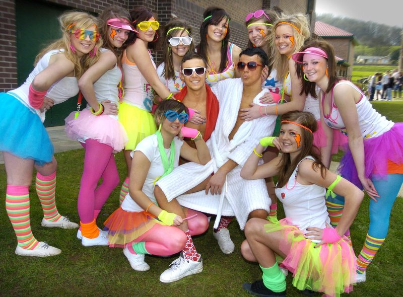 Sixth Form College students get set to take to the catwalk for their fundraising fashion show.