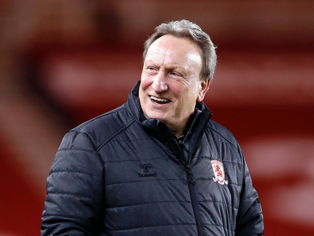 Neil Warnock is set to stay with Middlesbrough for next season. Picture: Getty