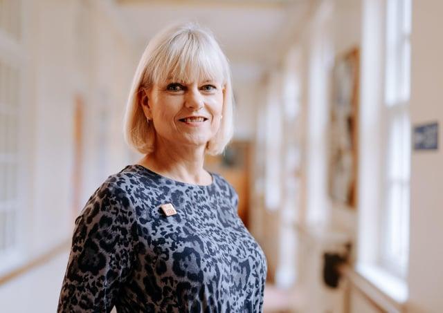 Michele Moran, SRO of the Humber, Coast and Vale Health and Care Partnership Mental Health.