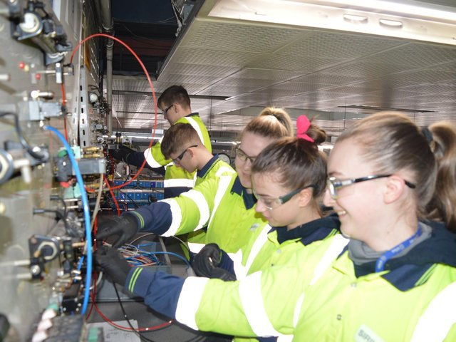 Anglo American has bought laptops to help students in Whitby.