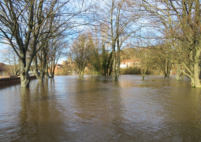 An appeal has been launched to help householders whose homes were hit by the recent flooding in Malton and Norton. Photograph courtesy of Nick Fletcher.