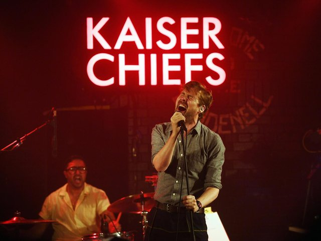 The Kaiser Chiefs, pictured in 2019.