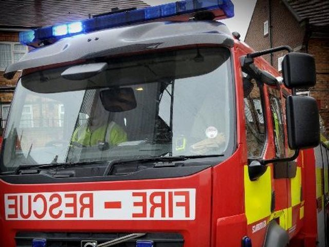 Firefighters called out to camp fire in Filey.