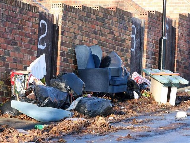 A total of 743 fly-tipping incidents were reported to Scarborough Borough Council in 2019-20.
