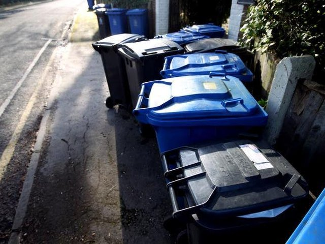 New data shows that Scarborough Borough Council collected 404.5 kg of household waste per person.