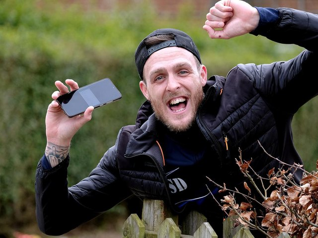 Scarborough man Shaun Dolan won £45,000 on a football bet. Picture: Richard Ponter