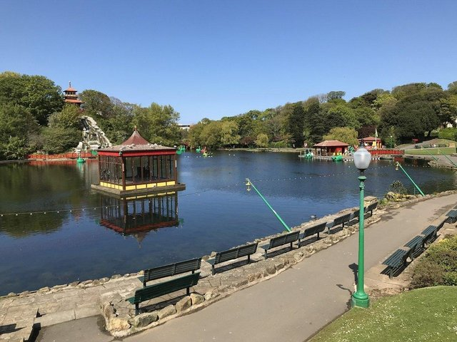 Peasholm Park will brighten hearts after the gloomiest of times.