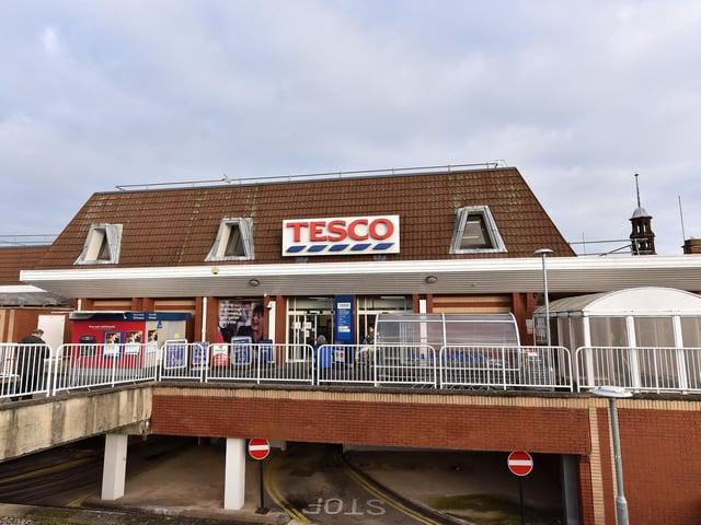 Scarborough's main Tesco, on Westwood.