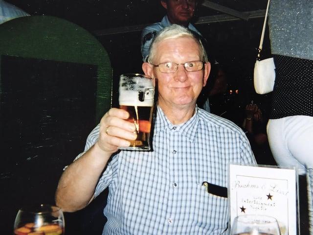 Bob Holmes who has died aged 83