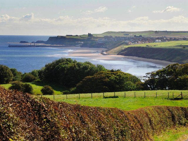 Lythe, looking out towards Whitby picture: Ceri Oakes