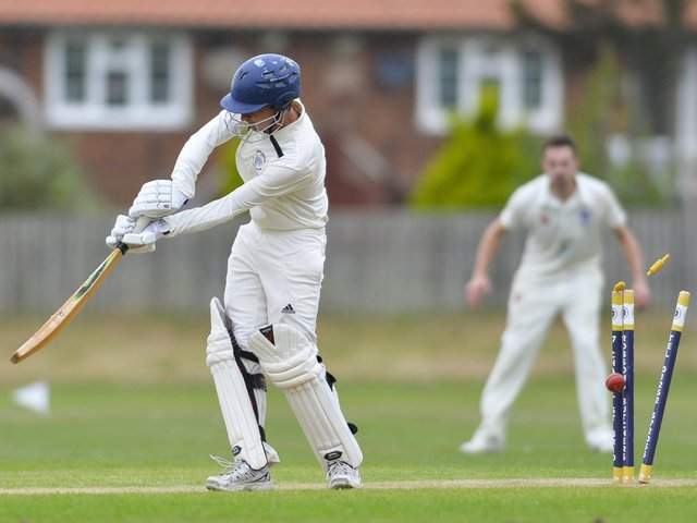 Bridlington 2nds (above in batting action) host Filey on the opening day of the 2021 season