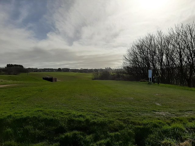 Whitby Golf Club land between Castle Road and Sandsend Road, which could make way for housing in the future.