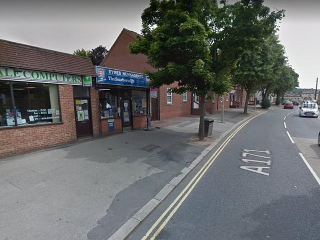 Eyres newsagents, Scalby Road. picture: Google