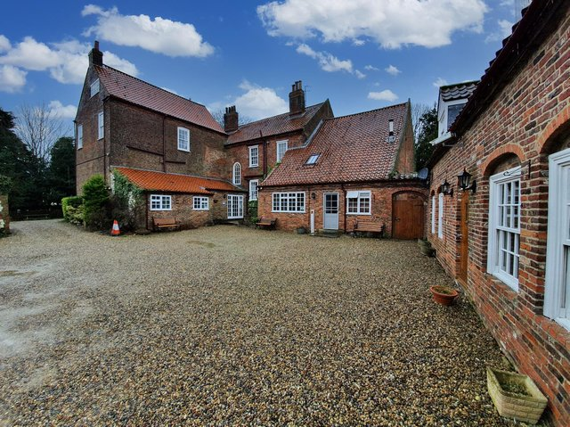 The exterior of the property. Picture: Christie & Co