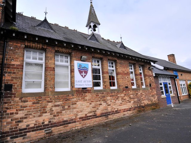 East Ayton Primary School has been forced to close until after Easter.