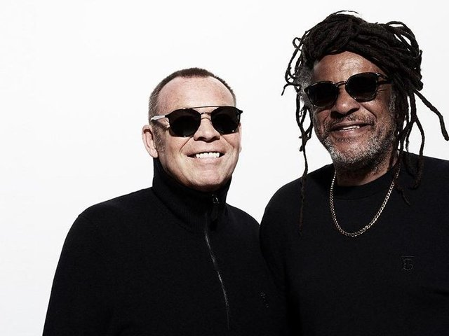 UB40 featuring Ali Campbell and Astro.