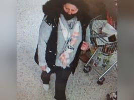 Police want to speak to this woman after goods worth hundreds of pounds were stolen from a supermarket in Scarborough.