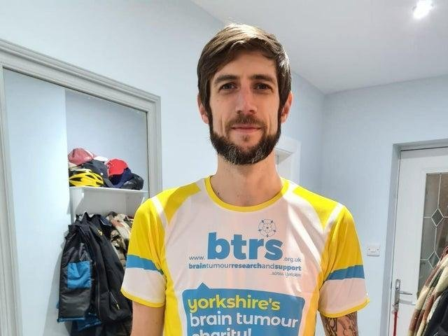 Andy Messenger's charity challenge begins on Saturday.
