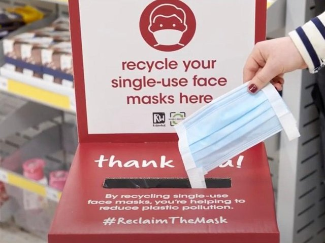 Wilko launches instore mask recycling scheme in Scarborough.
