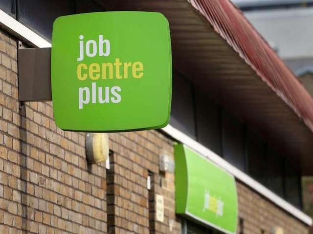The number of people claiming unemployment benefits in Scarborough more than doubled in a year.