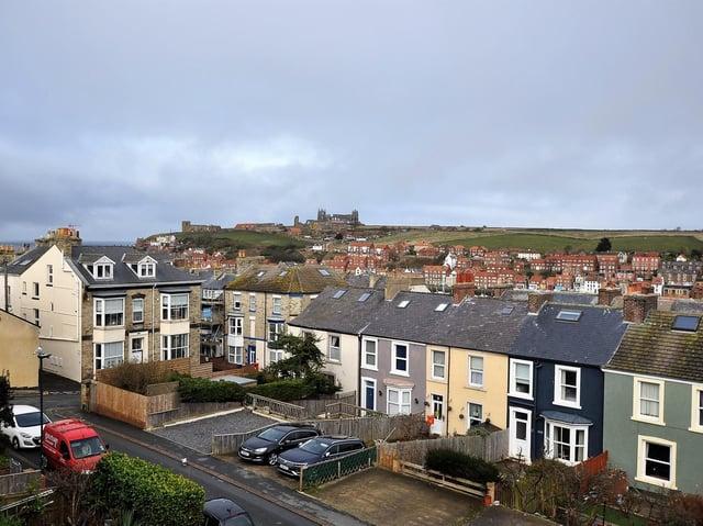 7 Park Terrace offers commanding views across the town