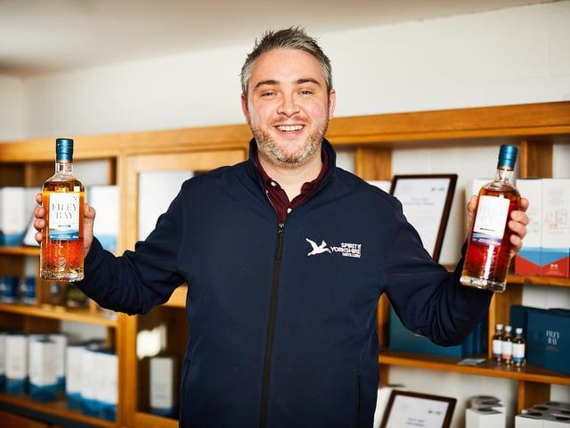 Morgan McDermott has joined Spirit of Yorkshire Distillery. (Photo: David Lindsay)