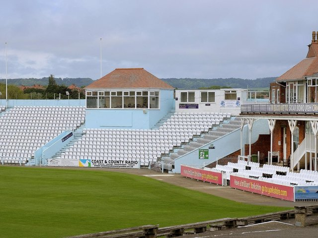Yorkshire County Cricket Club has signed a 10 year agreement with Scarborough Cricket Club