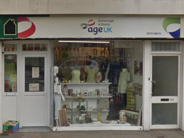 The Scarborough and District Age UK shop on Newborough - Pic: Google Maps