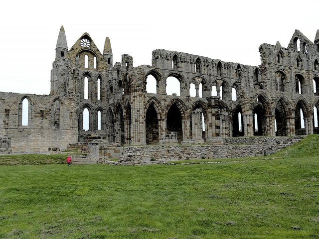 The abbey is open again from today!