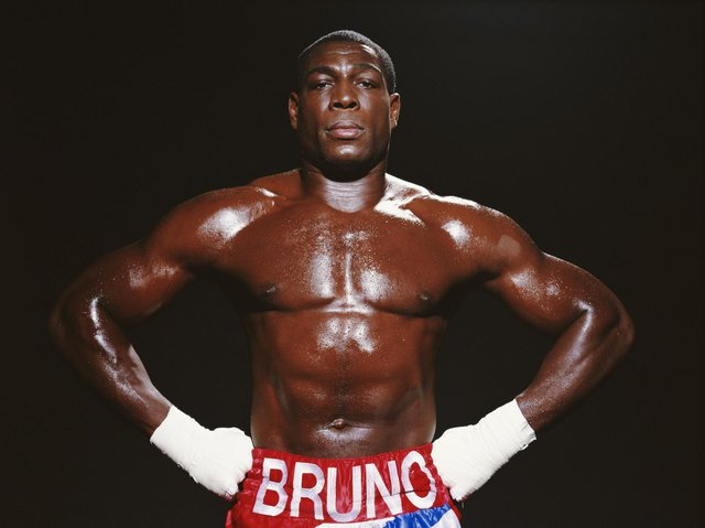 WHITBY BOUND: Heavyweight hero Frank Bruno. Picture: Getty
