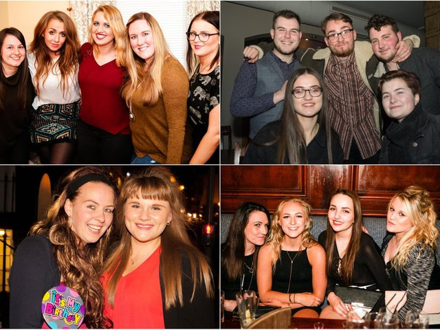 Were you partying in town and are pictured ?