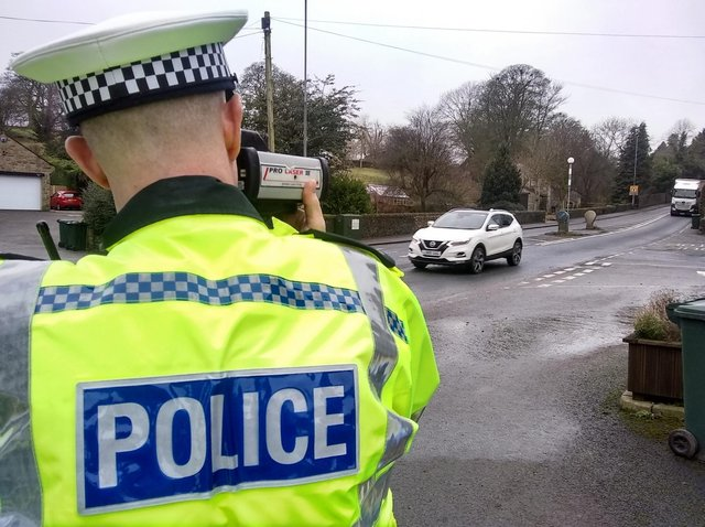 Police are planning a major roads policing operation this Easter weekend. Photo by North Yorkshire Police.