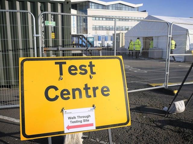Test centre at William Street coach park. Picture: JPI Media/ Richard Ponter